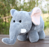 Colorful animal elephant doll toys and dolls cheap plush toys elephant doll