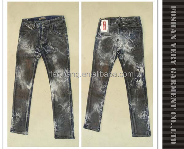 neue modell mode pu beschichtete herren jeans hosen jeans. Black Bedroom Furniture Sets. Home Design Ideas