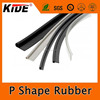 Hot sale P shape seals silicone extruded rubber seal made in China