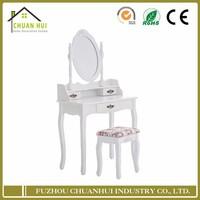 2016 cheap modern white dressing table bedroom furniture