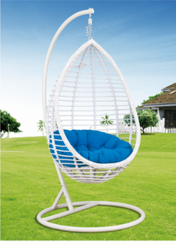 Clear Cheap Price Hanging Wicker Egg Chair With Stand Swing Bubble Chair.
