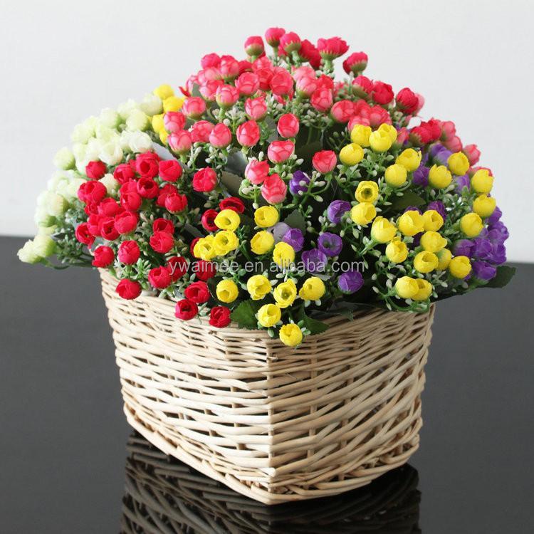 Wholesale Decorative Plastic Flower Pots,Description Rose Flower ...