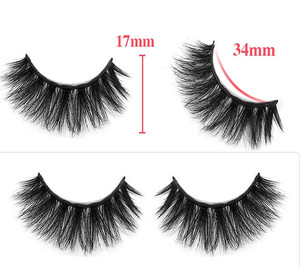Charming styles private label 3D Mink False Eyelashes mink Eyelash