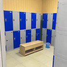 Fire resistance ABS digital safetylockers storage locker for changing room