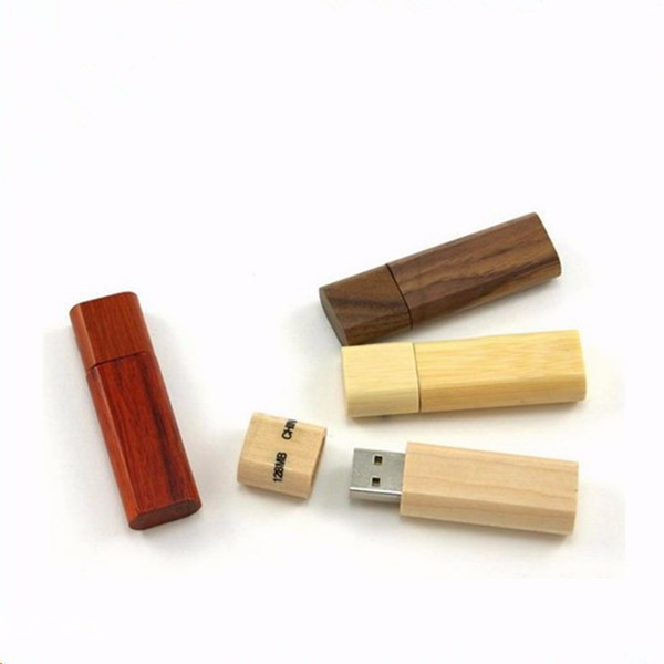 dark wooden usb flash drives with wooden box memory stick with high capacity