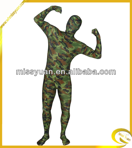 China manufacturer unisex full body spandex suit
