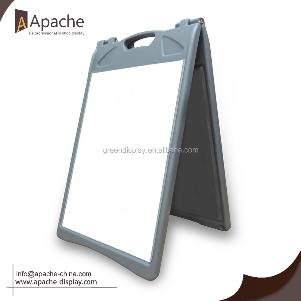 Abs Plastic Material Sidewalk Signs A Frame - Buy Cheap Abs A Frame ...