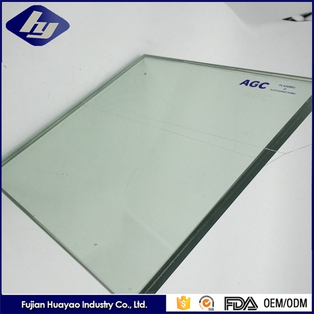 6mm Clear Color Laminated Glass For Window Customized Tempered Sheet