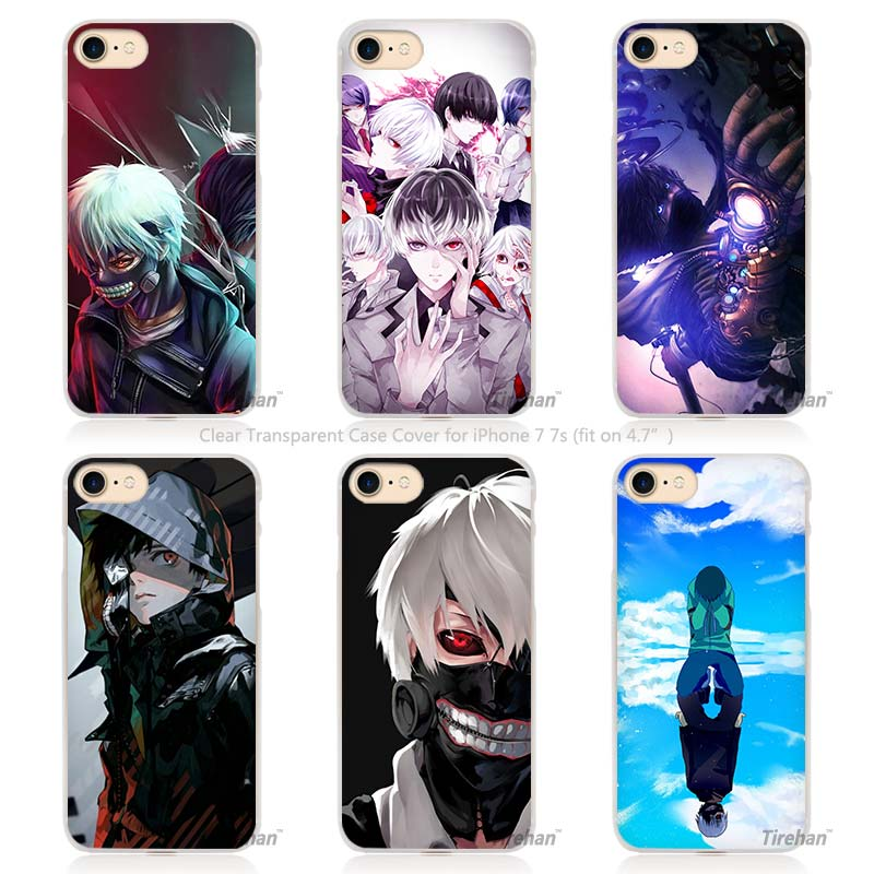 Anime Tokyo Ghouls Hard Transparent Phone Case Cover Coque For ...