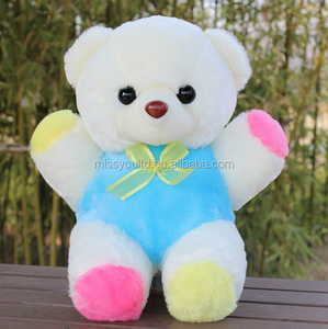 Promotional Stuffed Wholesale Mini Pink And Blue Teddy Bear