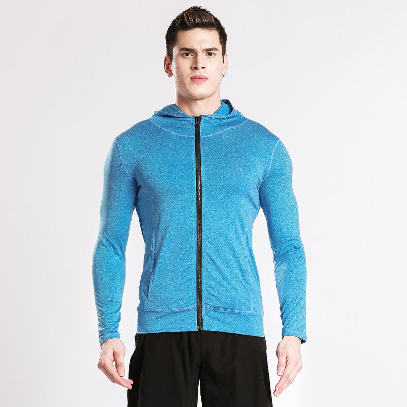 Chinese Clothing Men Tops Gym Clothes Yoga Sportswear Coat