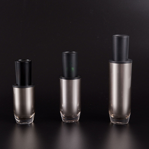 Empty Decorative Bulk Recyclable Cosmetic Use Pe Bottle