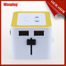 2015 WONPLUG THE NEWEST DUAL USB 5V/2.1A promotional gift items office