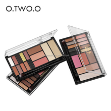 O.Two.O Coastal Scents White Eyeshadow Containers Eye Shadow Palette