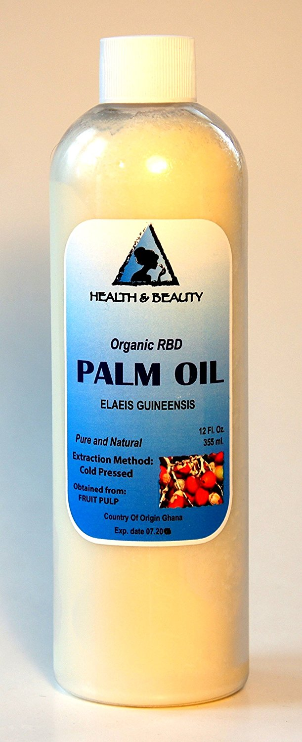 Palm Oil RBD Organic Carrier Cold Pressed Pure 24 oz