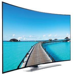 street outdoor full color digital display curved led screen tv