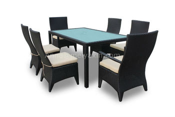 md 300 pe rattan 7pcs bm garden furniture