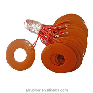 Low Temperature Silicone Rubber Oil Drum Heater With Spring/Magic Tape