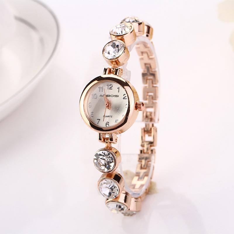 2016 летний стиль золотые часы марки часы Relojes женщины наручные женские часы  часы женские наручные часы из нержавеющей золото! 1XR720 2e5276cc647