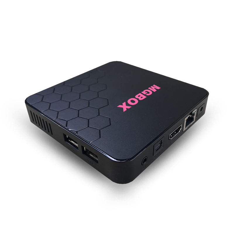2019 UUVISION  NEW Linux  TV BOX STB  iptv box mg 500 support stalker 4K epg with 1 year iptv m3u subscription set top box