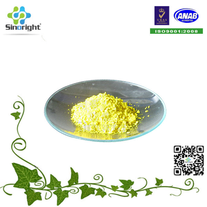 China Supplier Folic Acid / Vitamin B9 yellow powder