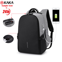 2019 Manufacture China anti theft travel bag backpack USB charging sports outdoor backpack factory guangzhou security backpack