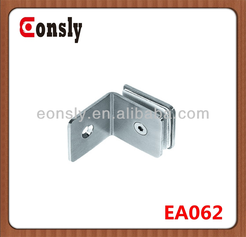 stainless steel Hardware Bulk sale best quality of structural glass clamp for frameless railing/door/fence/balcony/staircase