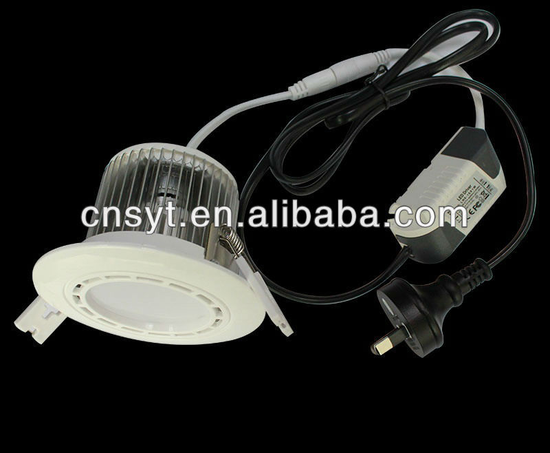 Round Epi-star cob led downlight,dimmable led down light 15w