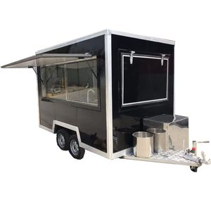 Hot sale concession food trailer, mobile coffee station shop trailer