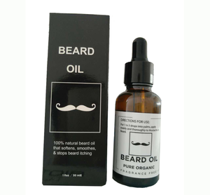 Male Natural Beard Oil for Mustache and Beard Growth as well as Skin Conditioner for Men as a Gift for Boyfriend and Daddy