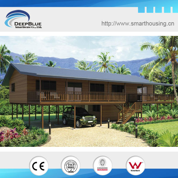 Hermosa cabaña de madera casas de madera pequeña casa de diseño ...