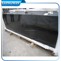 big size absolute black marble flooring tiles