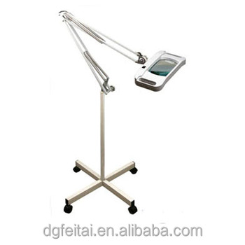 FEITA Optical Magnifying Glass Lamp With Light Stand