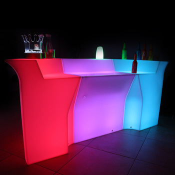 Luxury Led Furniture Event Hire Led Bar Counter Led Bar Table - Buy Led Bar  Table,Event Led Bar Table,Led Furniture Led Bar Table Product on