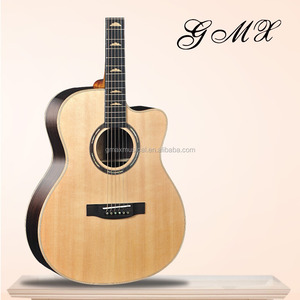 Cheap price korea guitars acoustic guitar solid wood with fast lead time