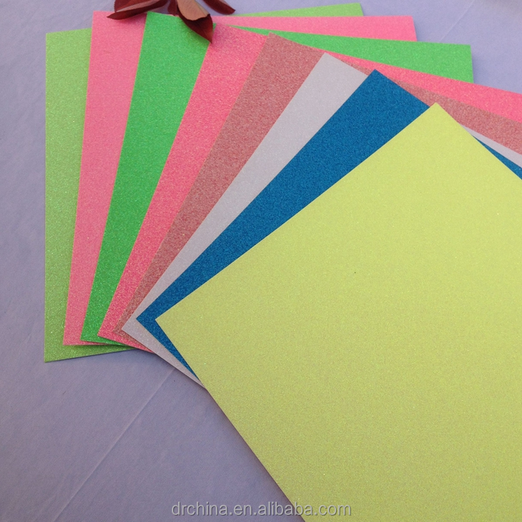 New Color Differerce Glitter Paper 50 Sheets Size 12 X 12 inch