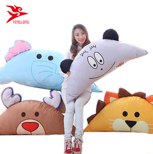 New arrival plush animal lion deer bear elephant pillow skin