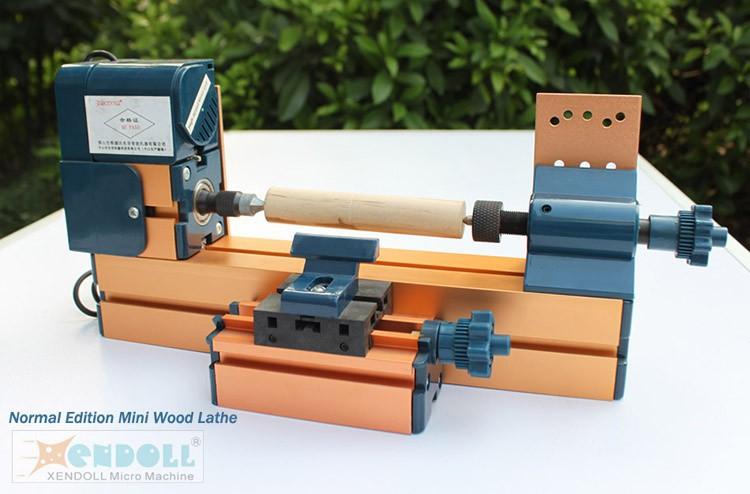 6 in 1 mini tornio fresatura di perforazione tornitura for Tornio legno hobby