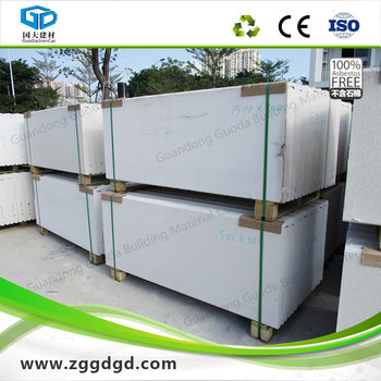 Aac alc cheap exterior wall panel made of reinforced for Cheapest exterior wall material