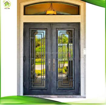 Custom Wrought Iron Double Doorsiron Entry Doorsiron Gates For