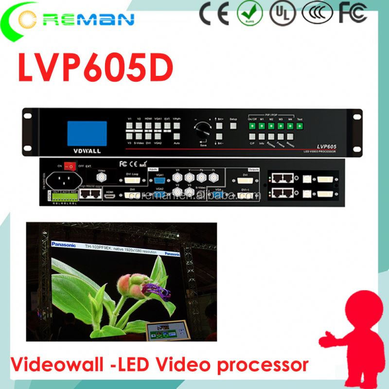 Free led display software download LVP605 , www.xvideos.com P8 P6 outdoor led display hanging type , big led video processor