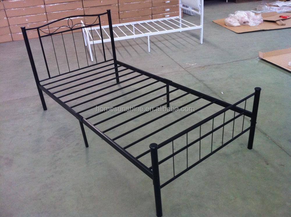 Platform metal full bed frame mattress foundation with Metal bed frame full