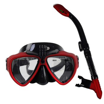 Scuba diving equipment Full face diving mask and snorkel set