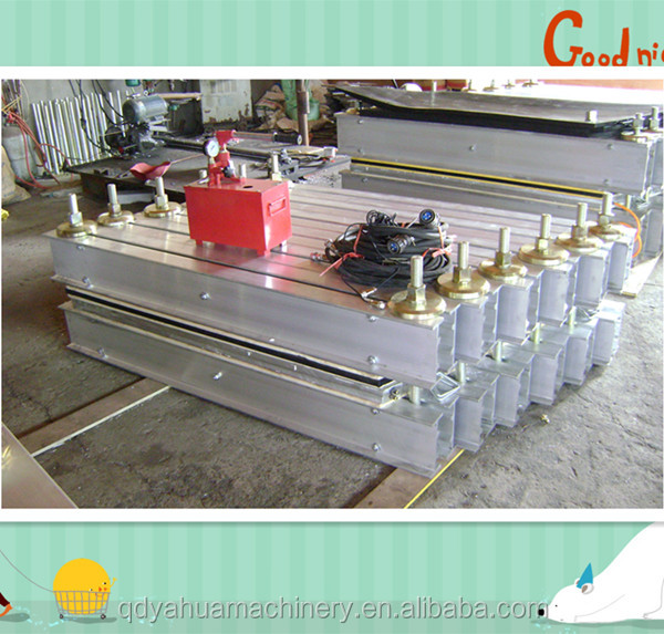 Electrical Bonding Conveyor Belt Vulcanizing Press With Water Cooling Plate