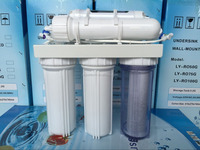 5-Stage 50GPD Reverse OSmosis Filtration and Purification System