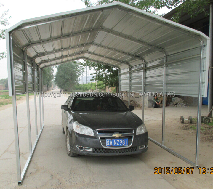 Metal Car Shelters : Metal structure for shed buy steel