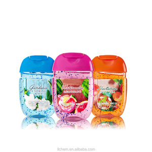 Wholesale bulk alcohol instant Hand sanitizer gel with silicone holder