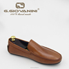 Men's Classic TAN BROWN real leather colorful leather shoes men
