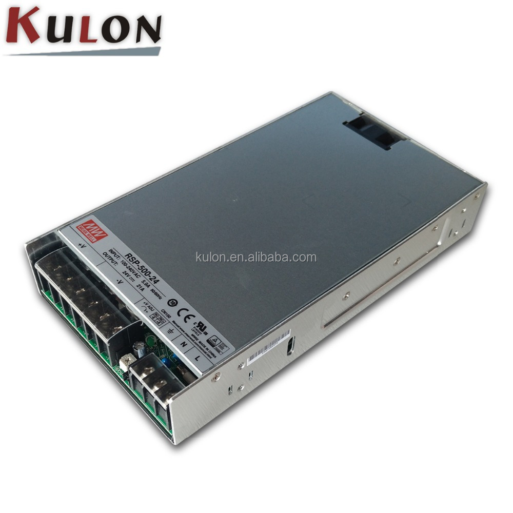 Utini Special Offers RSP-500-12 12V 41.7A RSP-500 12V 500.4W Single Output with PFC Function Power Supply