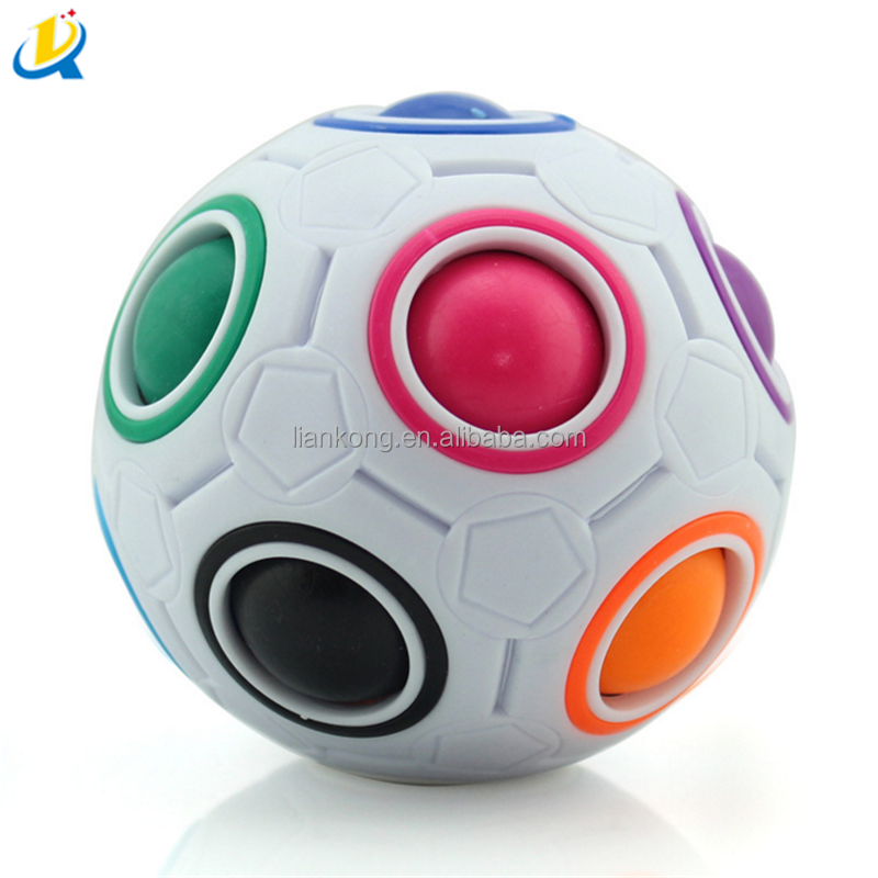 Colorful magic rainbow ball for puzzle toy game Top sale